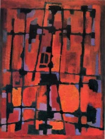 Passion, Manessier, 1948 25._Manessier_Passion_selon_saint_Matthieu2-e1344724388925