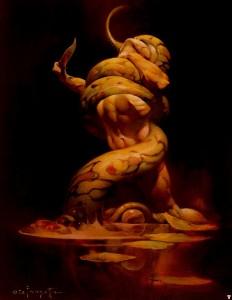 Cabraal l'aventureux (épisode 11) frank_frazetta_serpent1-232x300
